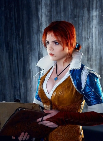Triss by Fenix Fatalist (Witcher 3) cosplay 15