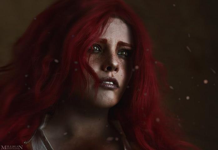 Triss by Fenix Fatalist (Witcher 3) cosplay 19