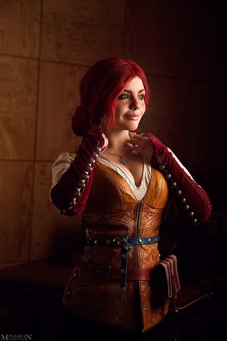 Triss by Fenix Fatalist (Witcher 3) cosplay 21