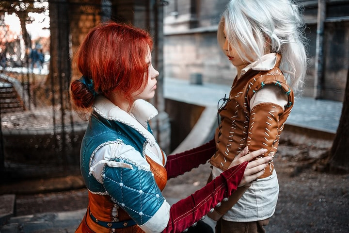Triss by Fenix Fatalist (Witcher 3) cosplay 22