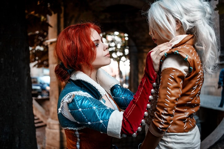 Triss by Fenix Fatalist (Witcher 3) cosplay 24