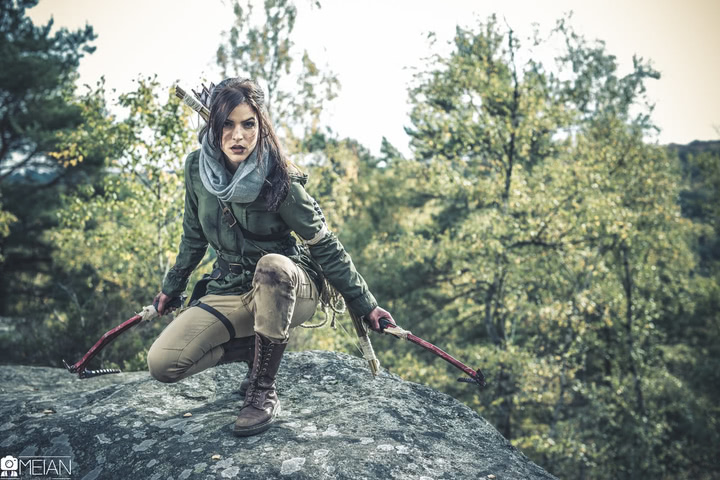 Lara Croft by LiliDin (Rise of the Tomb Raider) cosplay 3