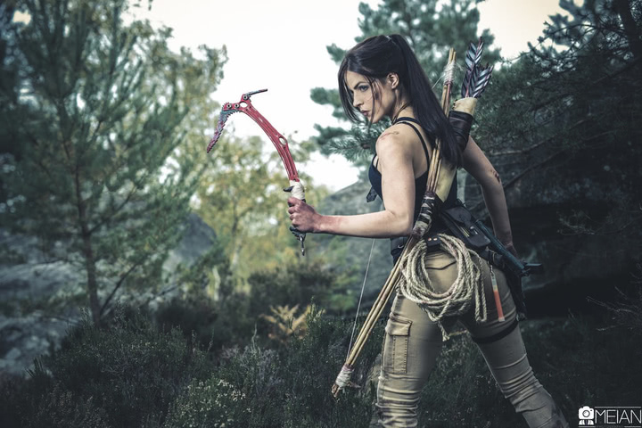 Lara Croft by LiliDin (Rise of the Tomb Raider) cosplay 6
