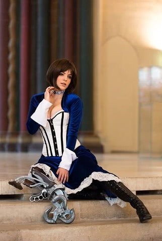 Elizabeth by LiliDin (Bioshock Infinite) cosplay 8