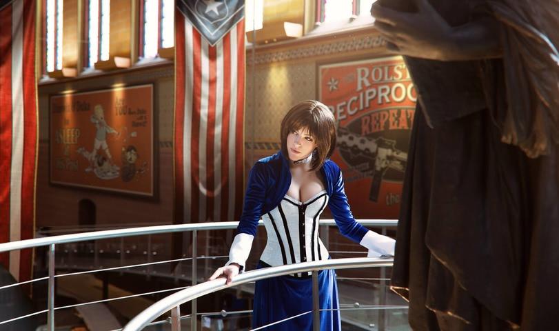 Elizabeth by LiliDin (Bioshock Infinite) cosplay 10