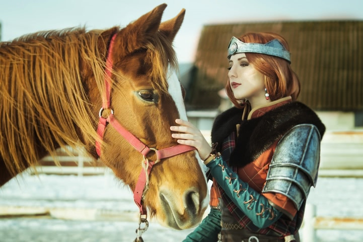 Cerys an Craite by niamash (witcher 3) cosplay 1