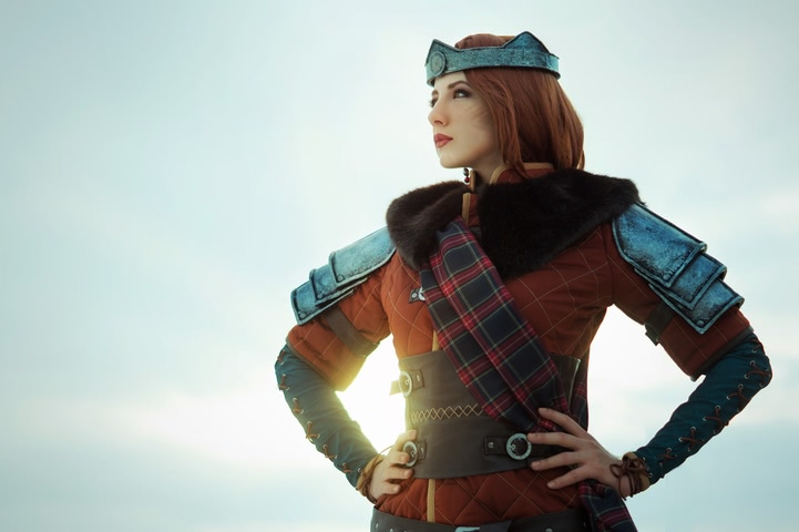 Cerys an Craite by niamash (witcher 3) cosplay 2