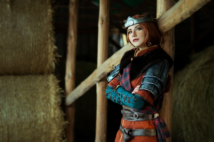 Cerys an Craite by niamash (witcher 3) cosplay 3