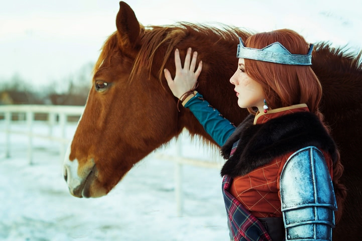 Cerys an Craite by niamash (witcher 3) cosplay 4