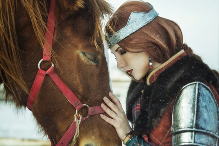 Cerys an Craite by niamash (witcher 3) cosplay 5