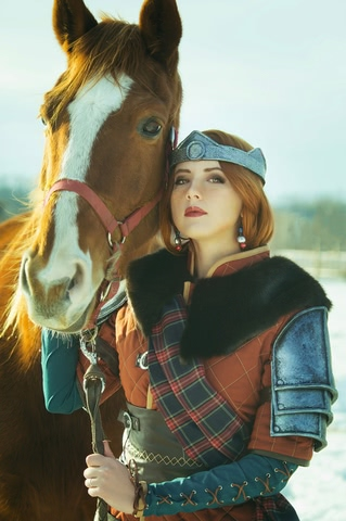 Cerys an Craite by niamash (witcher 3) cosplay 6