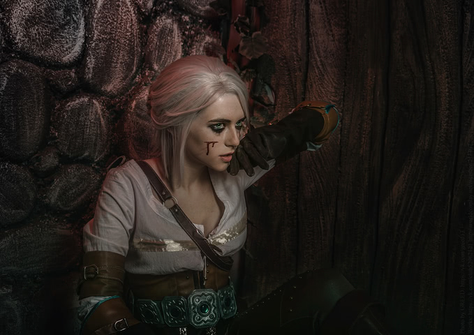 Ciri by matissa_shiro (witcher 3) cosplay 1