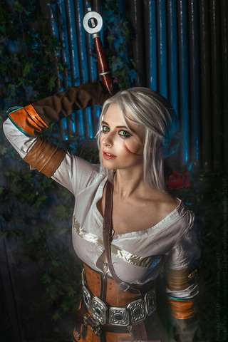 Ciri by matissa_shiro (witcher 3) cosplay 3