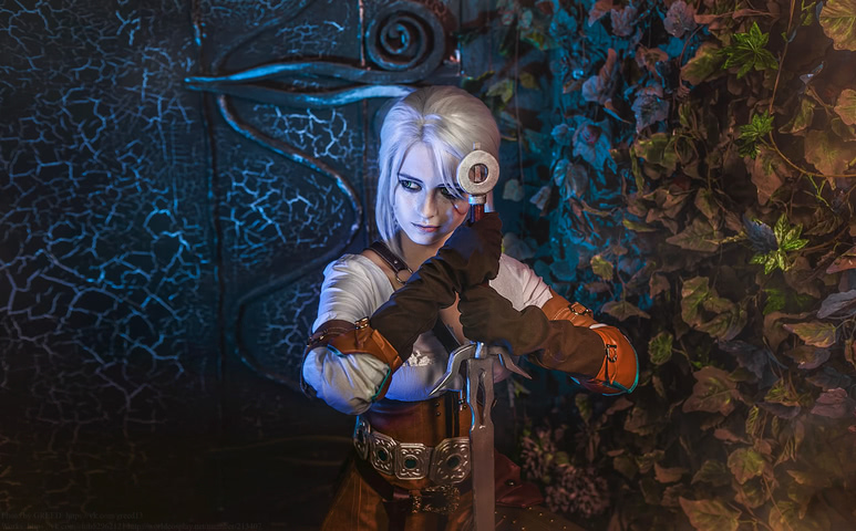 Ciri by matissa_shiro (witcher 3) cosplay 4