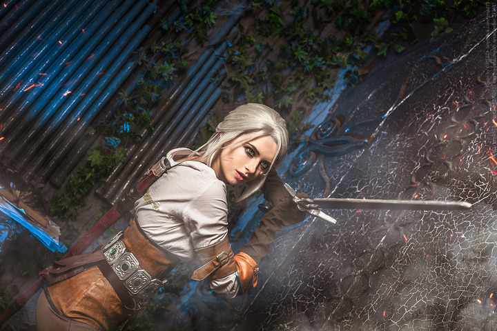 Ciri by matissa_shiro (witcher 3) cosplay 5