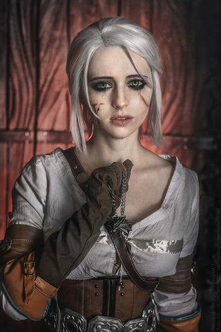 Ciri by matissa_shiro (witcher 3) cosplay 6