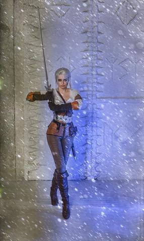 Ciri by matissa_shiro (witcher 3) cosplay 7