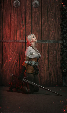 Ciri by matissa_shiro (witcher 3) cosplay 8