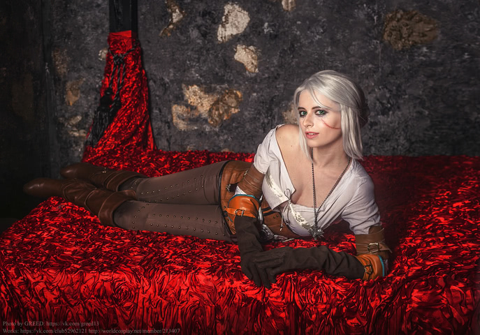 Ciri by matissa_shiro (witcher 3) cosplay 9