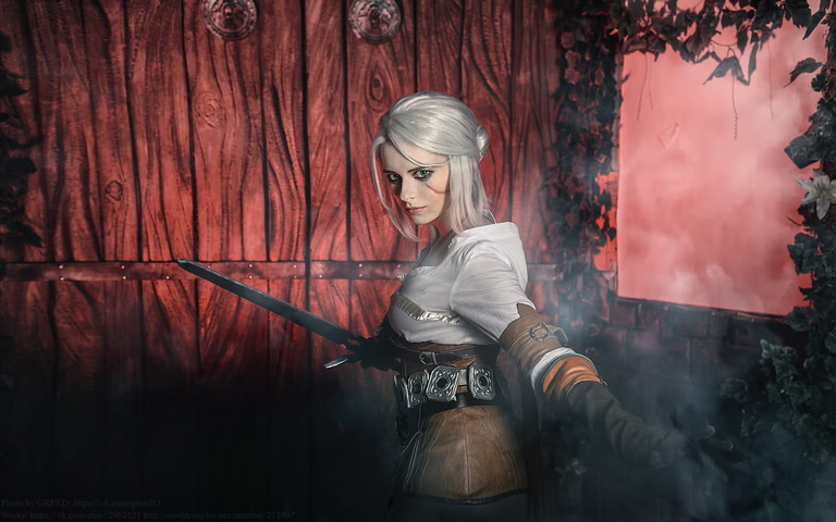 Ciri by matissa_shiro (witcher 3) cosplay 10