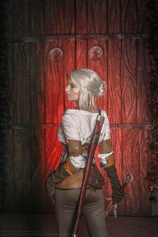 Ciri by matissa_shiro (witcher 3) cosplay 12