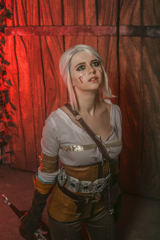 Ciri by matissa_shiro (witcher 3) cosplay 13