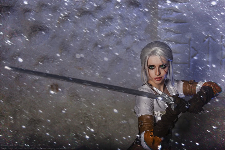 Ciri by matissa_shiro (witcher 3) cosplay 14