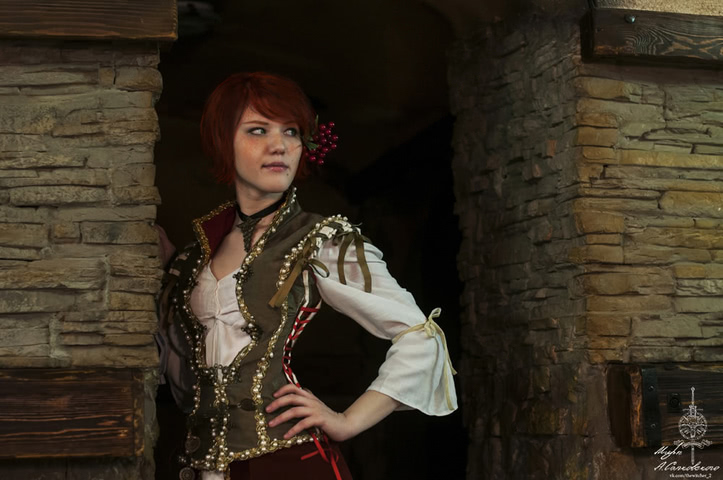 Shani by Lyumos (witcher 3) cosplay 7