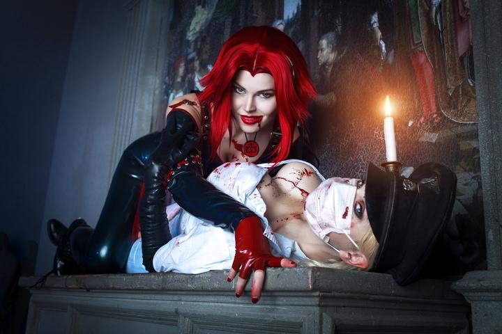 Butcheress by Elena Samko (BloodRayne) cosplay 8