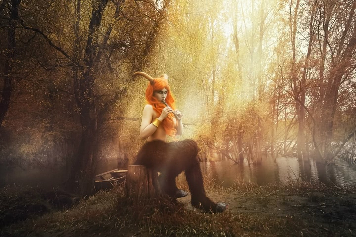 Blood and Wine by Elena Samko (Witcher 3) cosplay 8