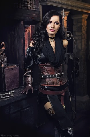 Yenn by HannukiHannushka (Witcher 3) cosplay 1