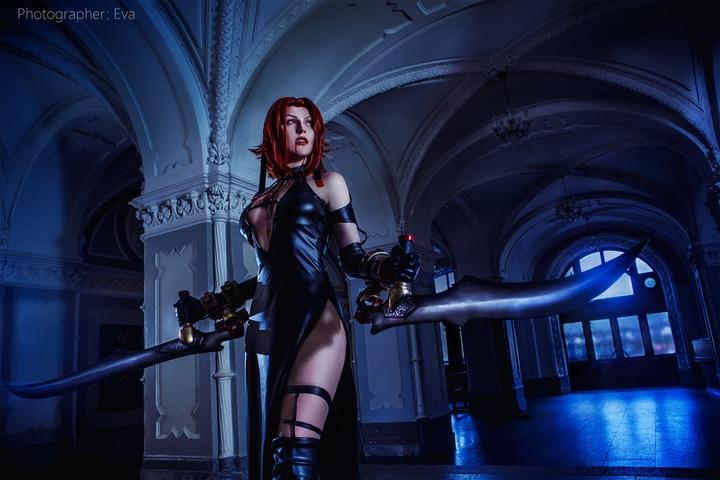 Rayne by Blast (BloodRayne 2) cosplay 2