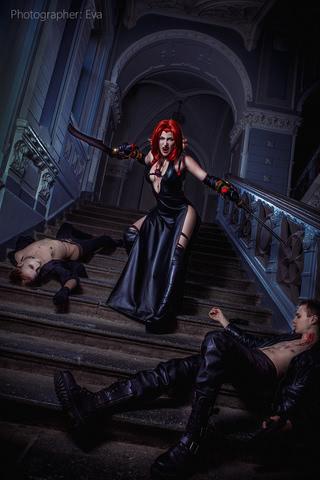 Rayne by Blast (BloodRayne 2) cosplay 4