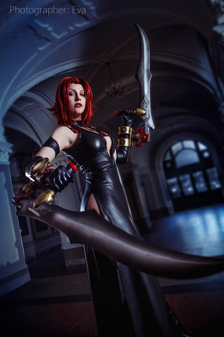Rayne by Blast (BloodRayne 2) cosplay 6