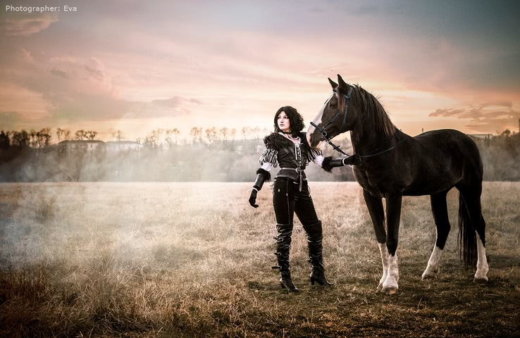 Yennefer of Vengerberg by Blast (Witcher 3) cosplay 1