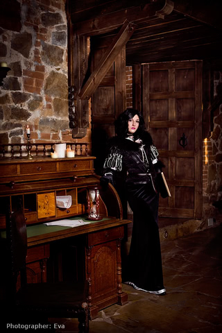 Yennefer of Vengerberg by Blast (Witcher 3) cosplay 2
