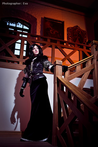 Yennefer of Vengerberg by Blast (Witcher 3) cosplay 3