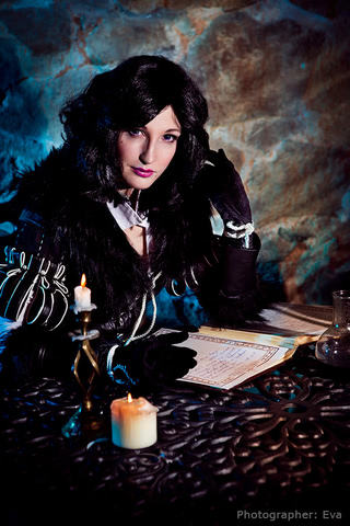 Yennefer of Vengerberg by Blast (Witcher 3) cosplay 4