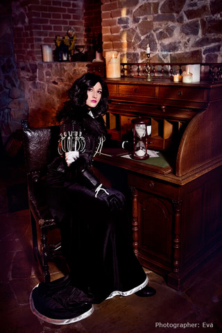Yennefer of Vengerberg by Blast (Witcher 3) cosplay 5