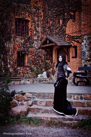 Yennefer of Vengerberg by Blast (Witcher 3) cosplay 7