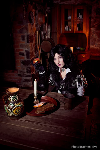 Yennefer of Vengerberg by Blast (Witcher 3) cosplay 9