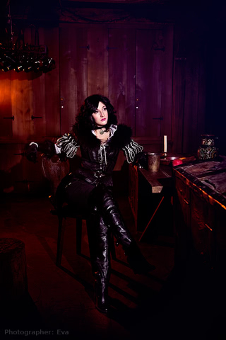 Yennefer of Vengerberg by Blast (Witcher 3) cosplay 10