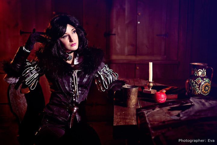 Yennefer of Vengerberg by Blast (Witcher 3) cosplay 11
