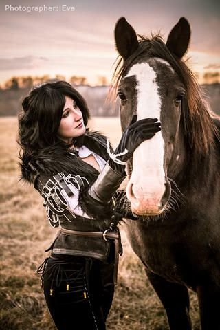 Yennefer of Vengerberg by Blast (Witcher 3) cosplay 12
