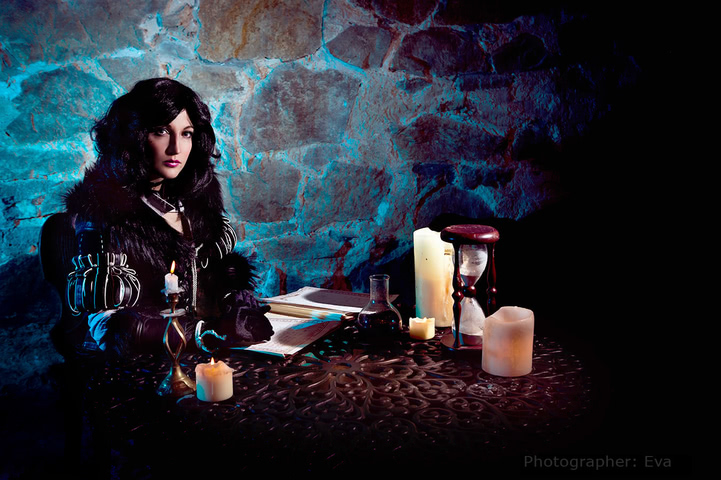 Yennefer of Vengerberg by Blast (Witcher 3) cosplay 13