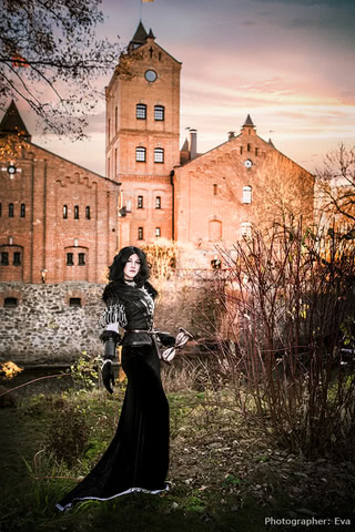 Yennefer of Vengerberg by Blast (Witcher 3) cosplay 16