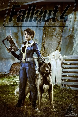 Fallout dweller by Amiko-chan (Fallout 4) cosplay 6