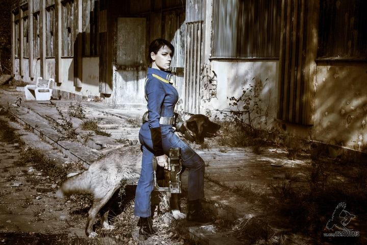 Fallout dweller by Amiko-chan (Fallout 4) cosplay 9
