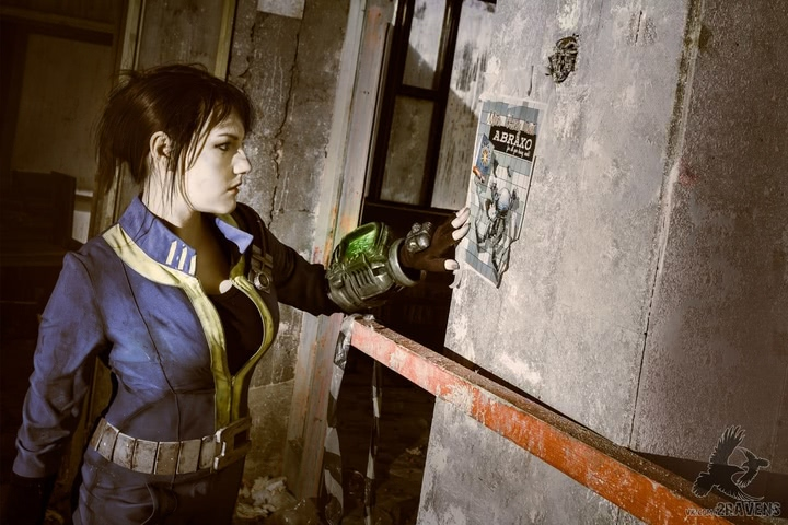Fallout dweller by Amiko-chan (Fallout 4) cosplay 10