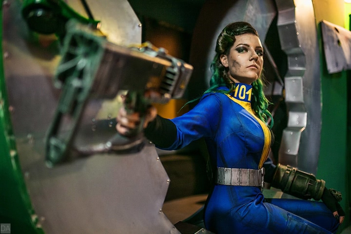 Fallout dweller by Amiko-chan (Fallout 4) cosplay 12